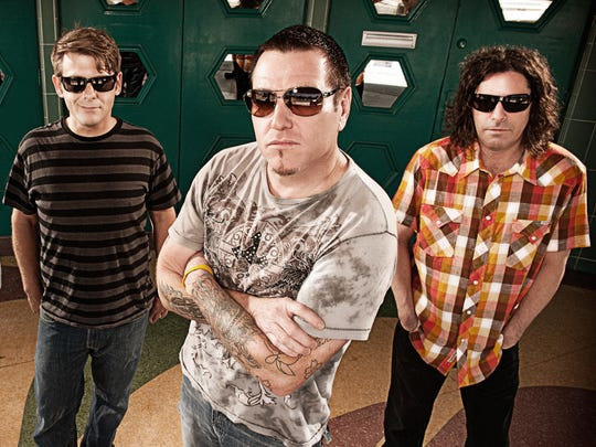Pop rockers Smash Mouth will perform Aug. 23 at the Central Wisconsin State Fair in Marshfield.