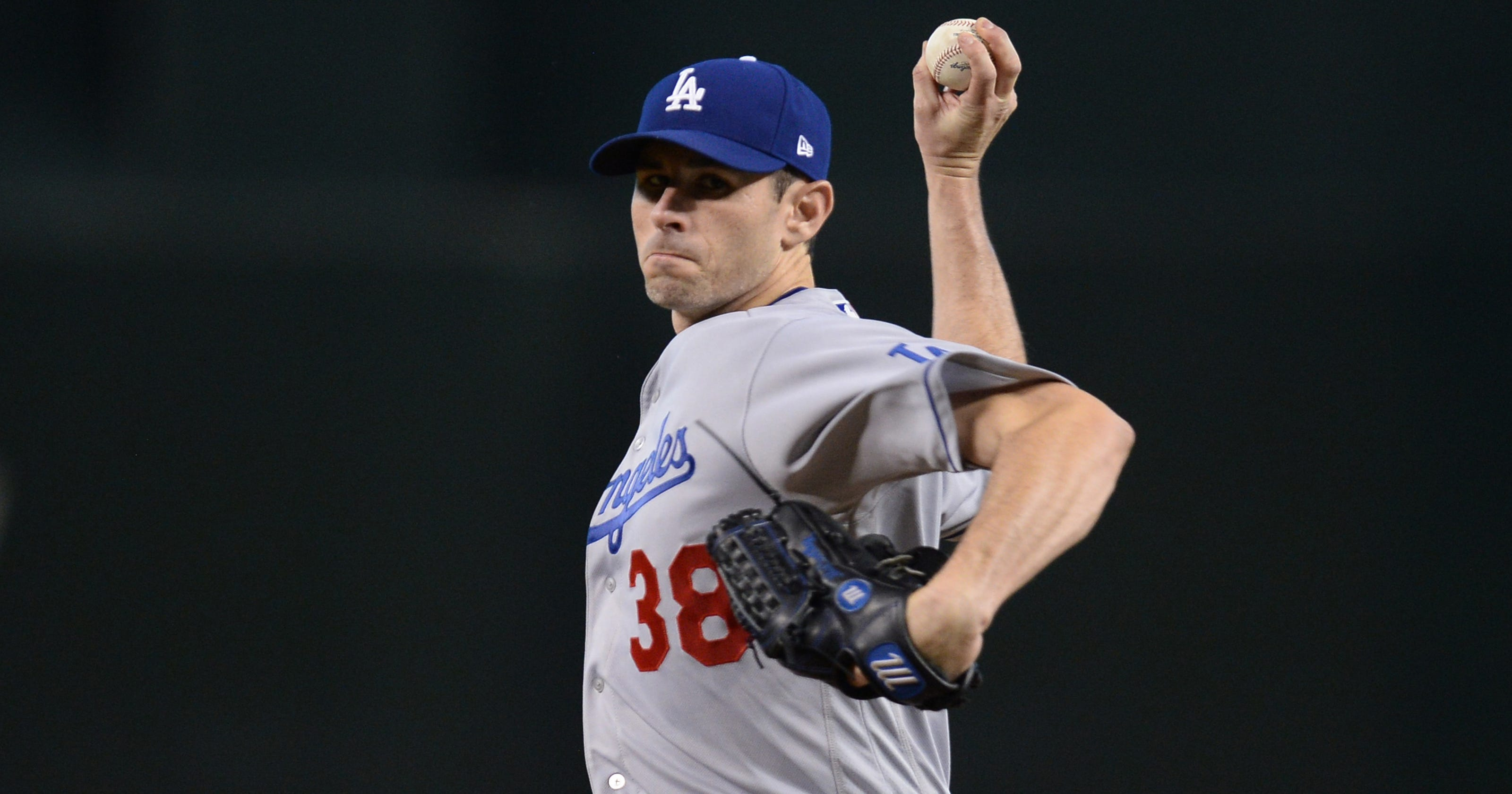 Dodgers' Brandon McCarthy recovers after battle with 'the yips'