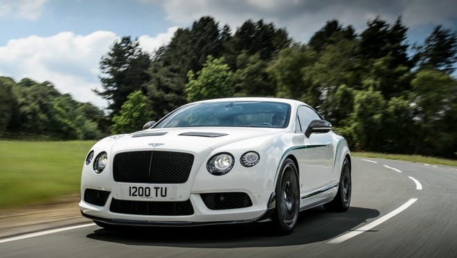 Bentley says the Continental GT3-R is its quickest model ever.