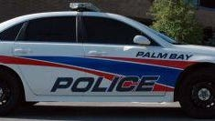 Palm Bay police officer is credited with helping to save a man's life.