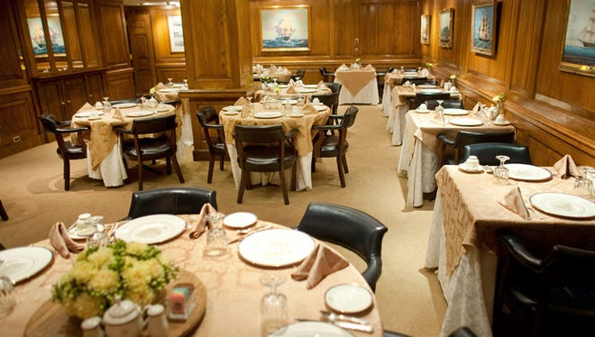 The Navy Mess is one of the White House dining areas.