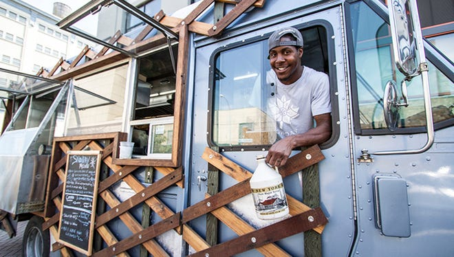 The Drive Change food truck Snow Day trains and employs formerly incarcerated teens and young adults in New York City.