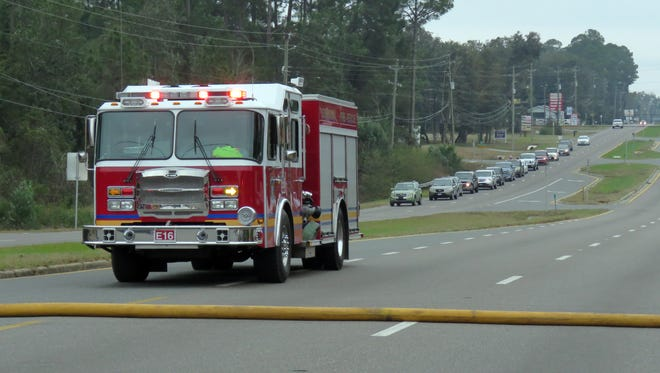 Escambia County firefighters