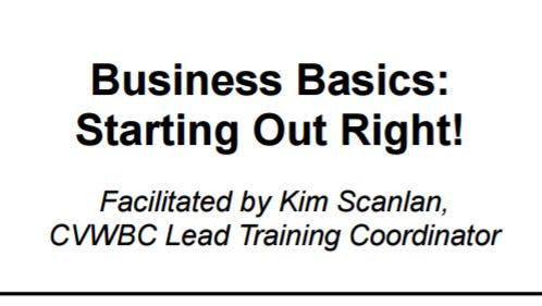 The Coachella Valley Women's Business Center will host a small business seminar Wednesday, Nov. 9.
