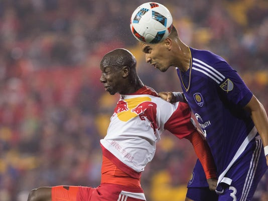MLS: Orlando City SC at New York Red Bulls