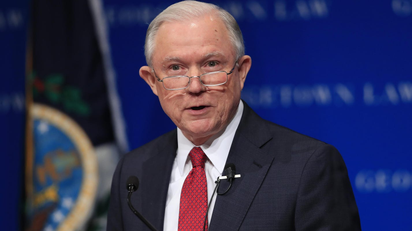 Sessions: US will intervene in campus free speech cases