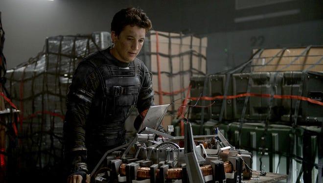 "Miles Teller stars in the superhero remake of ""The Fantastic Four."""