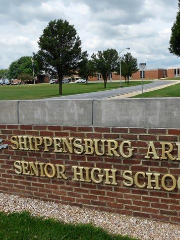 Shippensburg Area Senior High School, July 7, 2016.