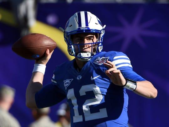 Expect Brigham Young Cougars quarterback Tanner Mangum