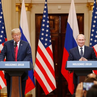 Republicans blast Trump meeting with Putin as 'shameful' and 'sign of weakness'