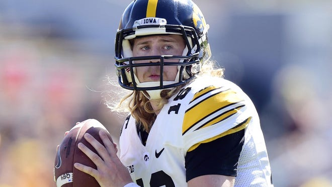 Naming quarterback C.J. Beathard the starter one of many offseason changes made by Iowa headc oach Kirk Ferentz.