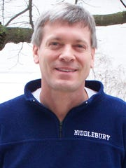 Kelly Boe, the manager of Middlebury College's biomass heating plant, was killed when his bicycle was struck by a car Tuesday evening. Nathan Dearing, 27, of Whiting pleaded not guilty Wednesday to charges that he hit Boe with his car while driving under the influence.