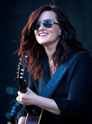 Brandy Clark performs at the 4th Annual ACM Party for a Cause Festival   Friday, April 1, 2016, in Las Vegas.