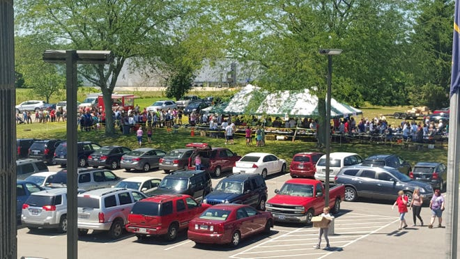 About 1,500 people attended the July Super Sample Shoe Sale at Wolverine Worldwide. A sale is planned this weekend at Wayne County Fairgrounds.