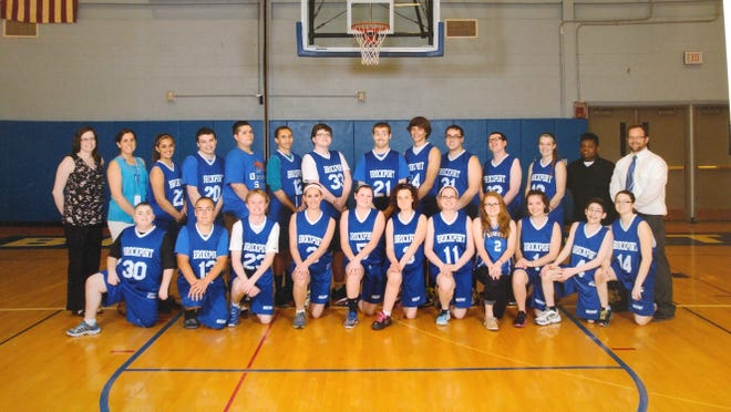 Brockport Central School District's 2015 Unified basketball team. provided photo