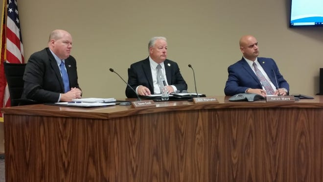 The Shawnee County commissioners voted not to raise their pay.