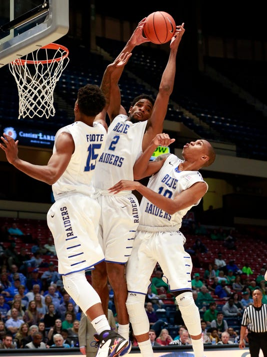 NCAA Basketball: Conference USA Tournament-Middle Tennessee State vs Marshall