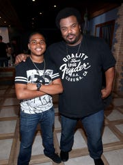 """Craig Robinson and Markees Christmas, seen March 14, 2016, in Austin, play father and son in """"Morris from America."""""""