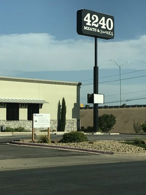 A sign at 4240 Southwest Blvd., at the corner of Southwest Boulevard and Loop 306, indicates the location will soon be the home of a new clinic for veterans to replace San Angelo's existing VA clinic.