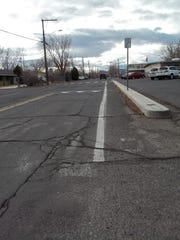 The city of Fernley recently completed a $5.4 million restoration project for Hardie Lane. A potential county increase in commercial development taxes could garner more road funds for the city and county.