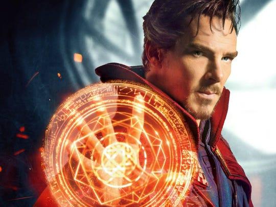 "Benedict Cumberbatch stars as the Marvel superhero Dr. Stephen Strange, aka ""Doctor Strange."""