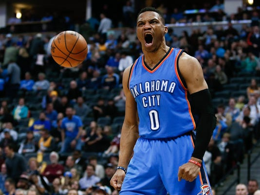 USP NBA: OKLAHOMA CITY THUNDER AT DENVER NUGGETS S BKN USA CO