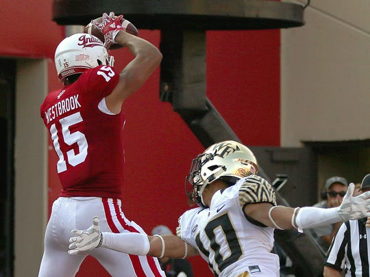IU receiver Nick Westbrook hopes to bounce back from