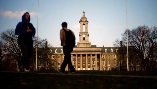 College campus.