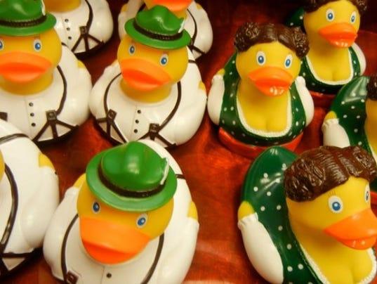 Austrian rubber ducks
