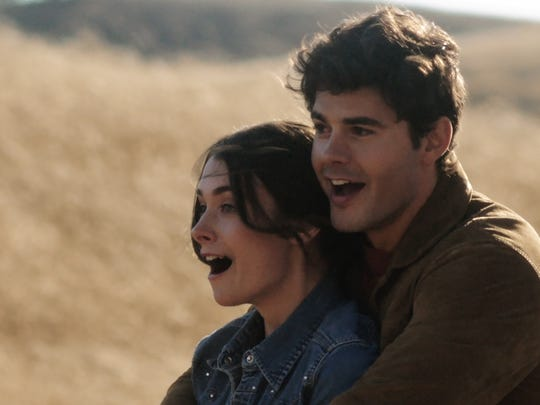 """Actors Allison Paige and Jayson Blair perform in """"The"""