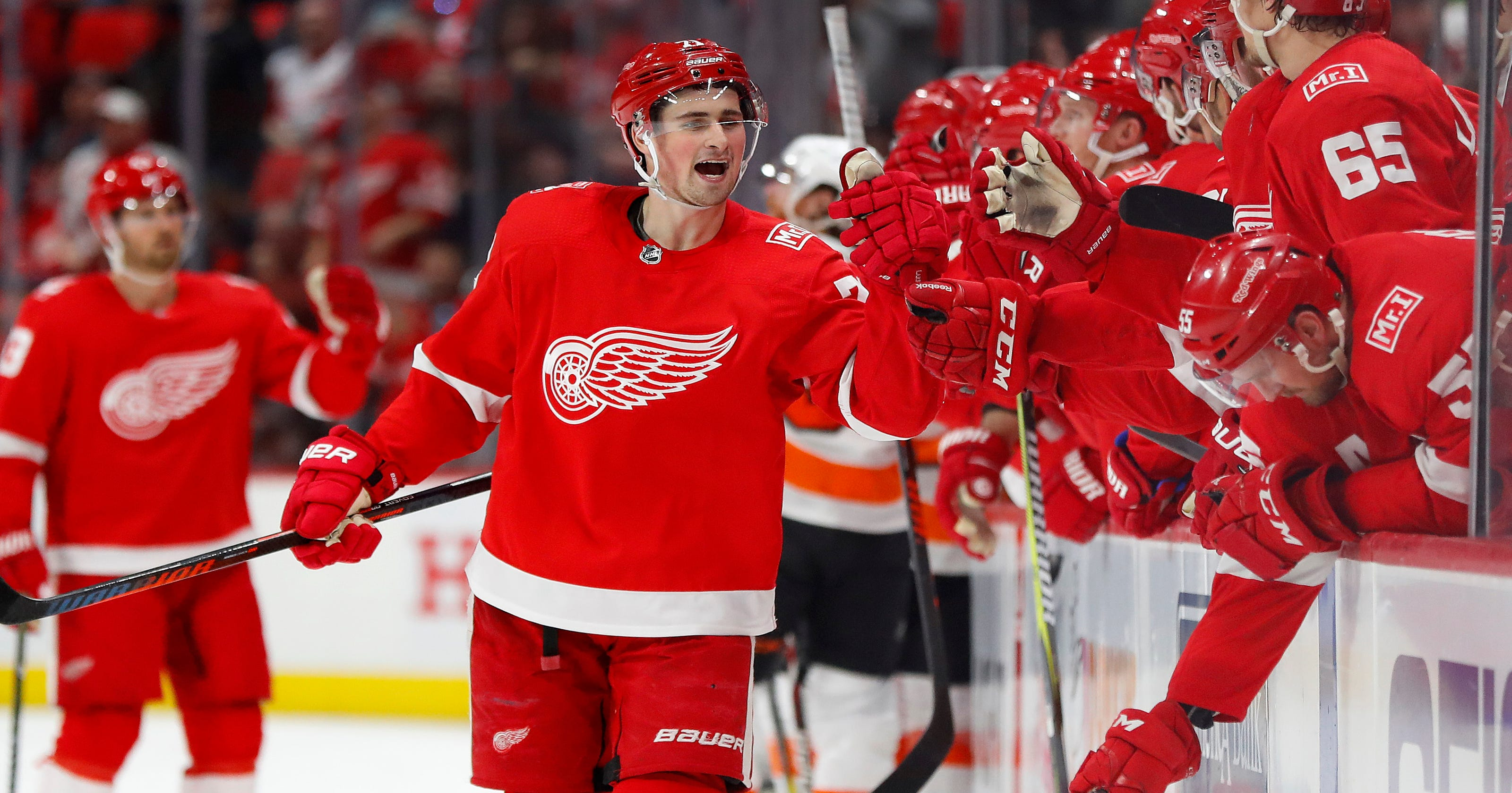 f600b503a14 More  great things  expected from Red Wings  Dylan Larkin