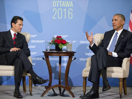 Barack Obama,Enrique Pena Nieto