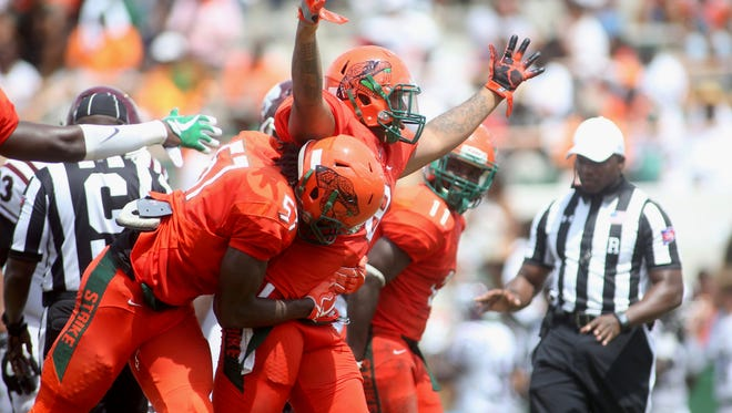 FAMU beat Texas Southern 29-7 in the Rattlers' first game of the season at Bragg Memorial Stadium Saturday, Aug 26.