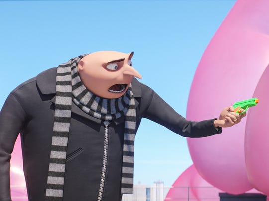 Steve Carell returns as the voice of Gru in the animated