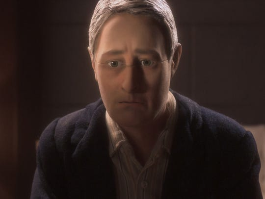 David Thewlis voices Michael Stone in the animated