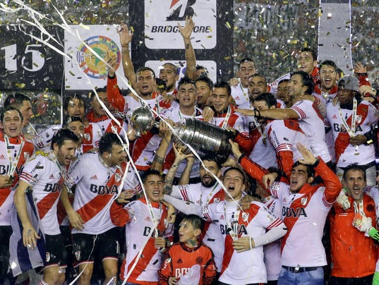 Argentina Mexico Soccer Copa Libertadores