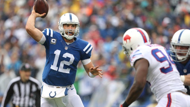 Colts QB Andrew Luck won't be coming to the Bills in a trade, that's pretty much a certainty.