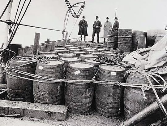 Prohibition became law in the United States as of Jan. 17, 1920 and would not end until Dec. 5, 1933.