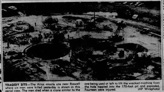 02/17/1961, The Atlas missile site near Roswell, where