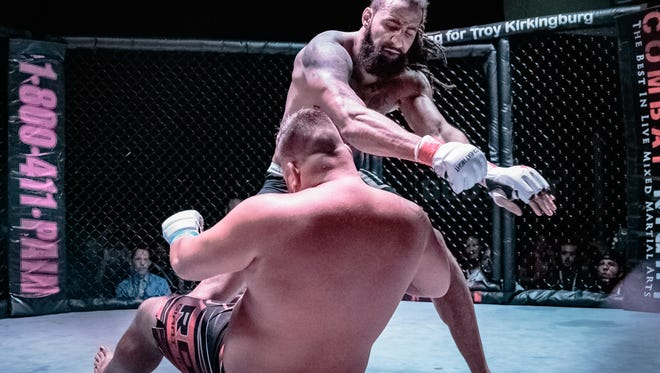Having moved on from life in the NFL, Iola-Scandinavia graduate and former Murray State University standout Austen Lane is attempting to make a name for himself in MMA.