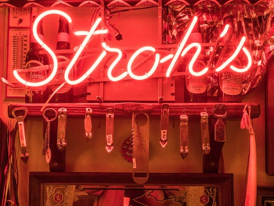 From neon signs to bottle and can openers, Stroh's