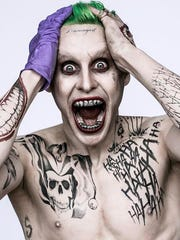 Jared Leto's take on The Joker made his first appearance via David Ayer's Twitter.