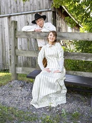 "Steven Stull starred as Curly and Lynn Craver played Laurey in the Triphammer Arts production of ""Oklahoma!"" in August of 2018."