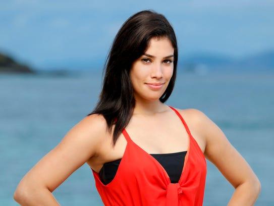 Stephanie Gonzalez was voted off first.