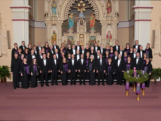 The Monteverdi Chorale will perform in concert on Dec. 17 at the McMillan Memorial Library.