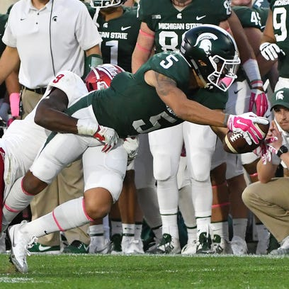 Niyo: Freshman receivers grow up fast for Spartans