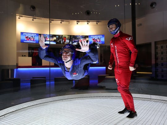 iFly session at Ridge Hill in Yonkers.