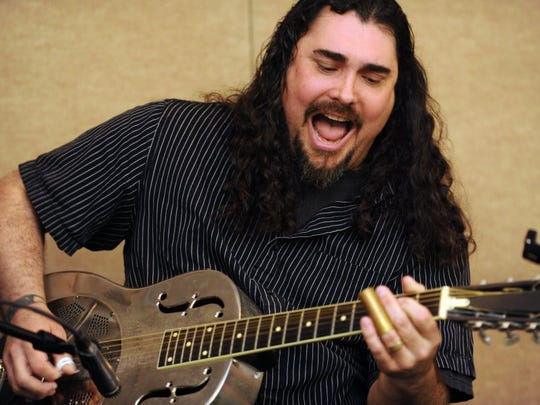 Blues guitarist Alastair Greene will perform Feb. 2