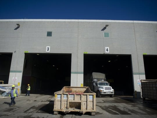 This is Oxnard's Del Norte Regional Recycling & Transfer Station, where Arcturus Manufacturing had negligently disposed of hazardous waste in 2016, prosecutors said when announcing a settlement Monday.