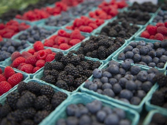 Berries are a key crop in Ventura County.